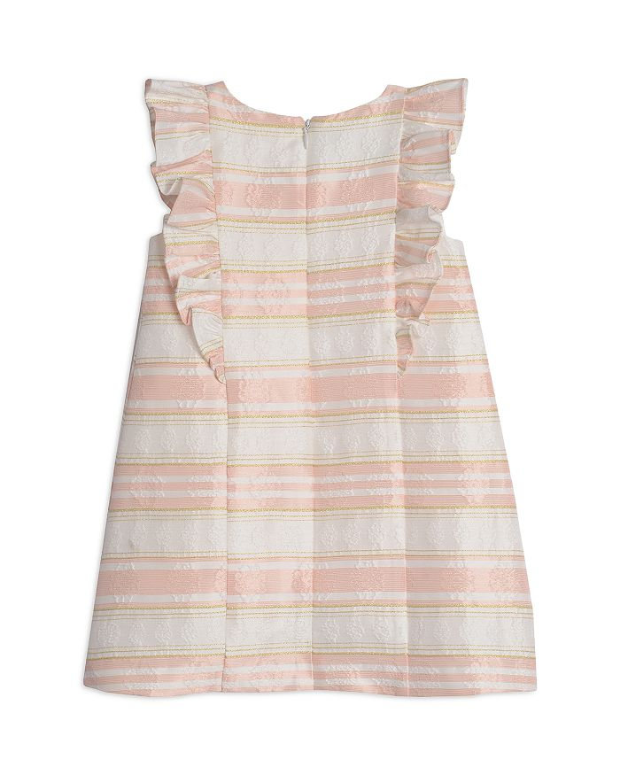 PIPPA & JULIE Dresses GIRLS' STRIPED BROCADE DRESS - LITTLE KID