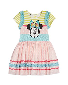 Pippa & Julie - Girls' Dots & Stripes Minnie Dress - Little Kid. Big Kid