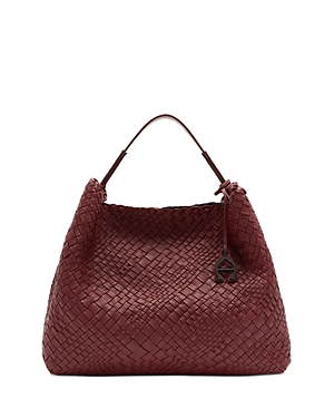Eitenne Aigner Irena Woven Leather Hobo