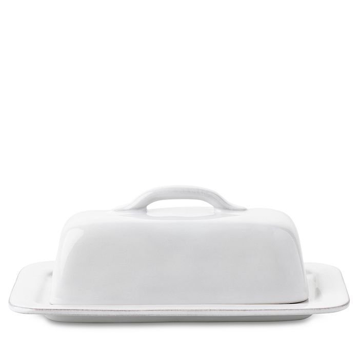 Juliska - Puro Whitewash Butter Dish