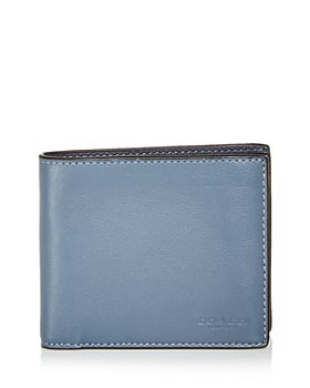 COACH - 3-in-1 Color Block Leather Bifold Wallet