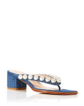 Stuart Weitzman - Women's Goldie Embellished Sandals