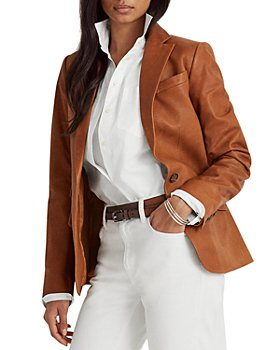 Ralph Lauren - Leather Blazer