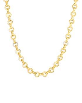 """Roberto Coin - 18K Yellow Gold Obelisco Diamond Collar Necklace, 16"""" - 100% Exclusive"""