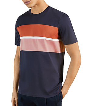 Ted Baker - Frontro Color Block Crewneck Tee