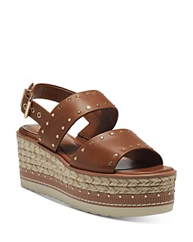 VINCE CAMUTO - Women's Marsa Studded Espadrille Platform Sandals