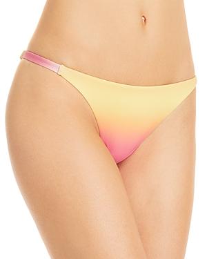 Aqua Swim Ombre String Bikini Bottoms - 100% Exclusive