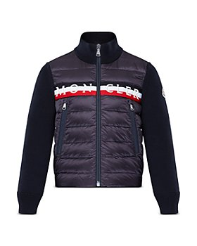 Moncler - Unisex Down Cardigan Jacket - Big Kid