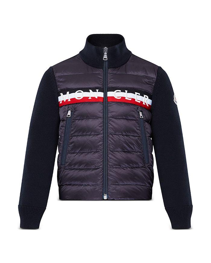 Moncler - Unisex Down Cardigan Jacket - Big Kid