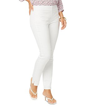 NYDJ - Pull On Ankle Skinny Jeans in Optic White