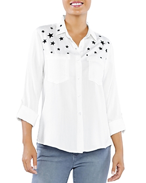 I Wish Star Print Shirt