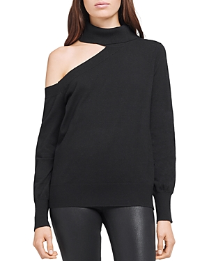 L Agence L'AGENCE EASTON ONE SHOULDER SWEATER