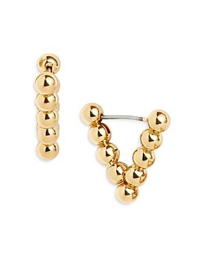 Baublebar Vera Beaded Triangle Hoop Earrings