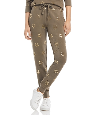 Star Print Sweatpants