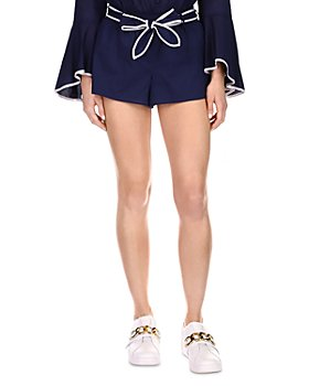 MICHAEL Michael Kors - Obi Belt Cotton Shorts
