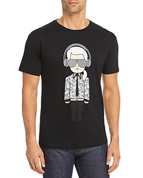 KARL LAGERFELD PARIS - Karl Headphones Tee