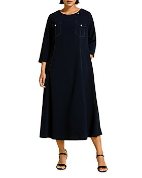 Marina Rinaldi - Davos Triacetate Dress