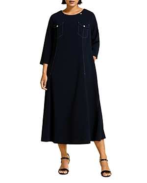 Marina Rinaldi DAVOS TRIACETATE DRESS