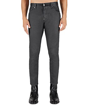 DSQUARED2 - Coated2 Sexy Mercury Slim Fit Jeans in Black