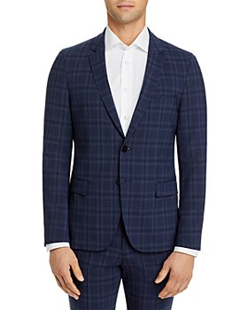 HUGO - Anfred Plaid Extra Slim Fit Suit Jacket