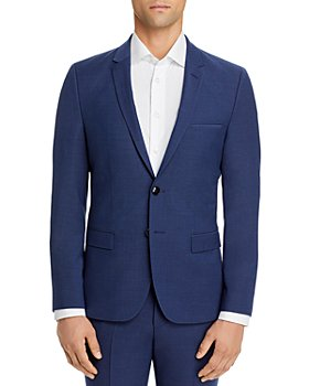 HUGO - Arti Textured Solid Extra Slim Fit Suit Jacket