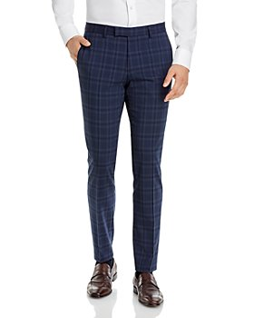 HUGO - Heiron Plaid Extra Slim Fit Suit Pants