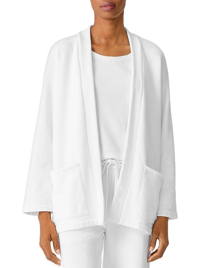 Eileen Fisher Petites - Organic Cotton Open Jacket