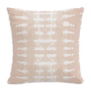 Sparrow & Wren Outdoor Pillow in Dotted Stripe, 18 x 18