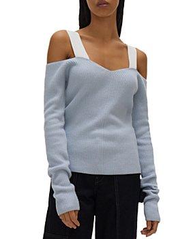 Helmut Lang - Cold Shoulder Sweater