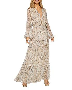 Ramy Brook - Enya Snake-Print Dress