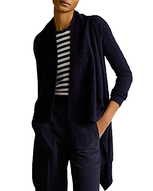 Ralph Lauren POLO RALPH LAUREN CASHMERE CABLE DRAPED CARDIGAN