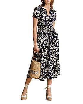 Ralph Lauren - Floral Print Midi Dress