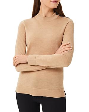 Hobbs London Gabby Mock Neck Sweater