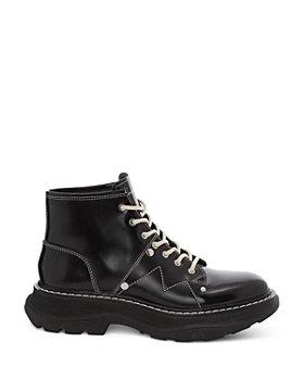 Alexander McQUEEN - Men's Leather Tread Boots