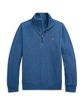 Ralph Lauren - Boys' Quarter Zip Sweatshirt - Little Kid, Big Kid