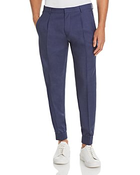 HUGO - Fento Micro Weave Wool Blend Pants