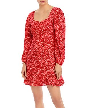 Calla Printed Mini Dress
