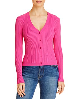 LINI - Shea Ribbed Cardigan - 100% Exclusive