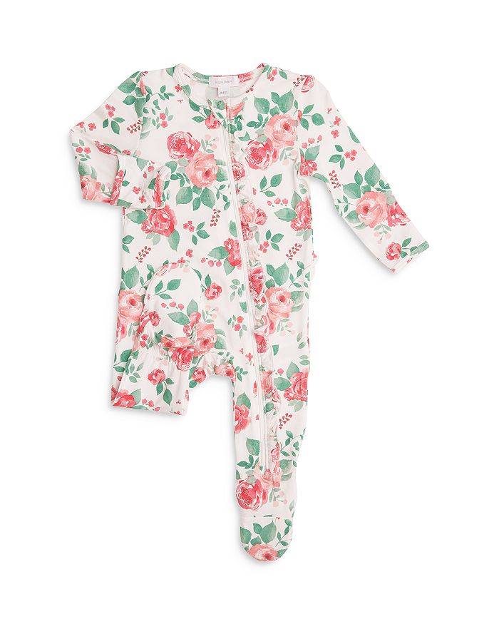 ANGEL DEAR Bodysuits GIRLS' ROSE GARDEN FOOTIE - BABY