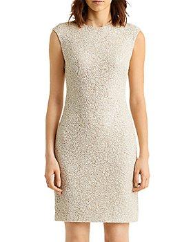 Ralph Lauren - Sequined Lace Shift Dress