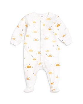 FIRSTS by petit lem - Unisex Sunshine Print Sleeper Footie - Baby