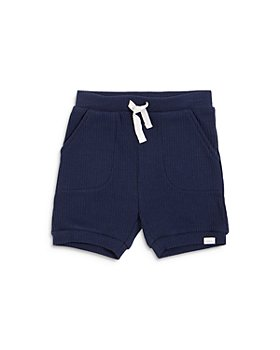 petit lem - Boys' Ribbed Tie Shorts - Baby