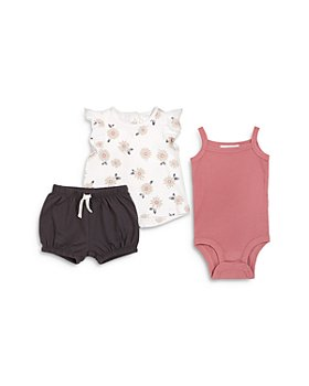 FIRSTS by petit lem - Girls' 3-Piece Shorts Set - Baby