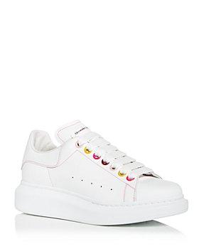 Alexander McQUEEN - Women's Oversized Multicolor Grommet Sneakers