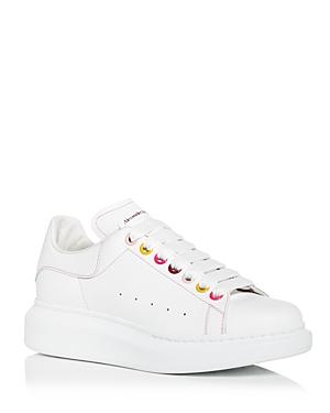 Alexander McQUEEN Women's Oversized Multicolor Grommet Sneakers