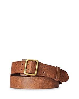 Polo Ralph Lauren - Garrison Double-Prong Leather Belt