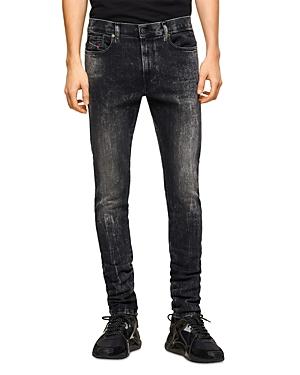 Diesel D-amny-y Skinny Fit Jeans in Black Denim