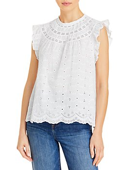 LINI - Thora Voile Eyelet Top - 100% Exclusive