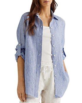 Ralph Lauren - Striped Linen Button Down Shirt
