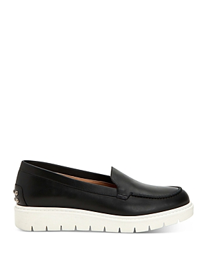 Women's Kyleigh Studded Leather Platform Loafers